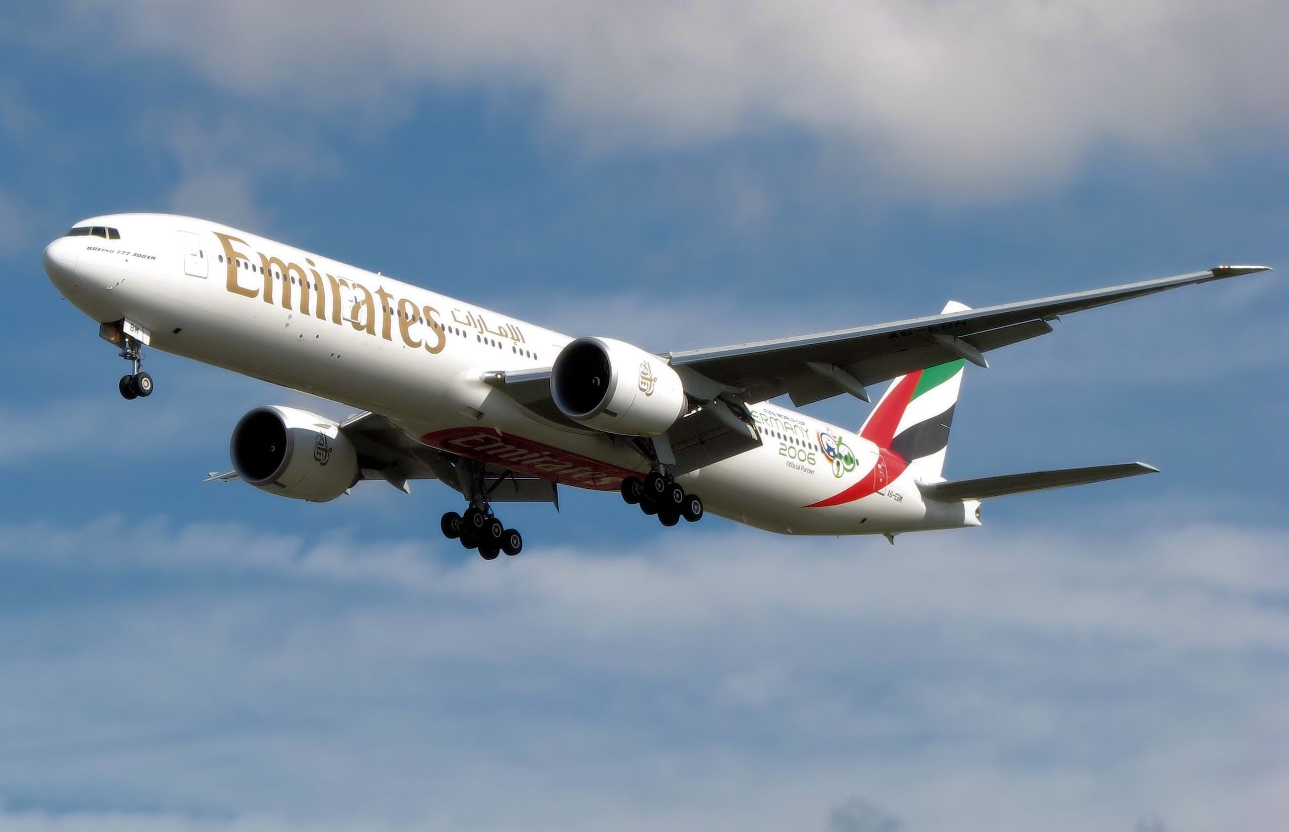 pets traveling on Emirates