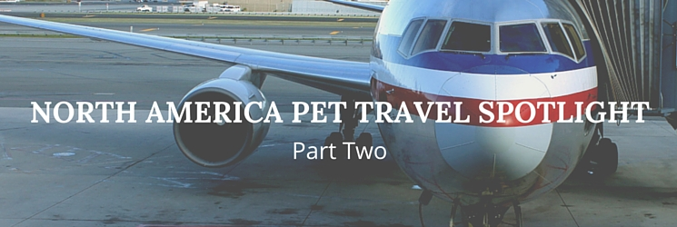 north america pet travel spotlight part two