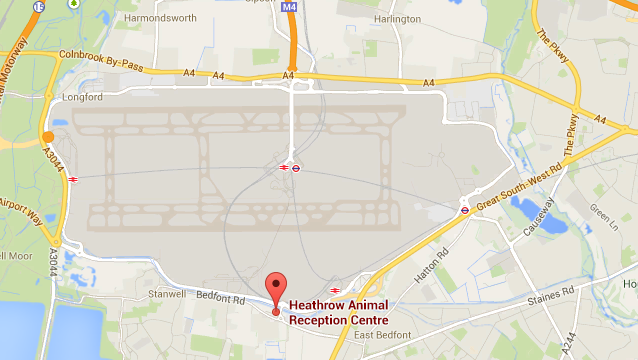heathrow map