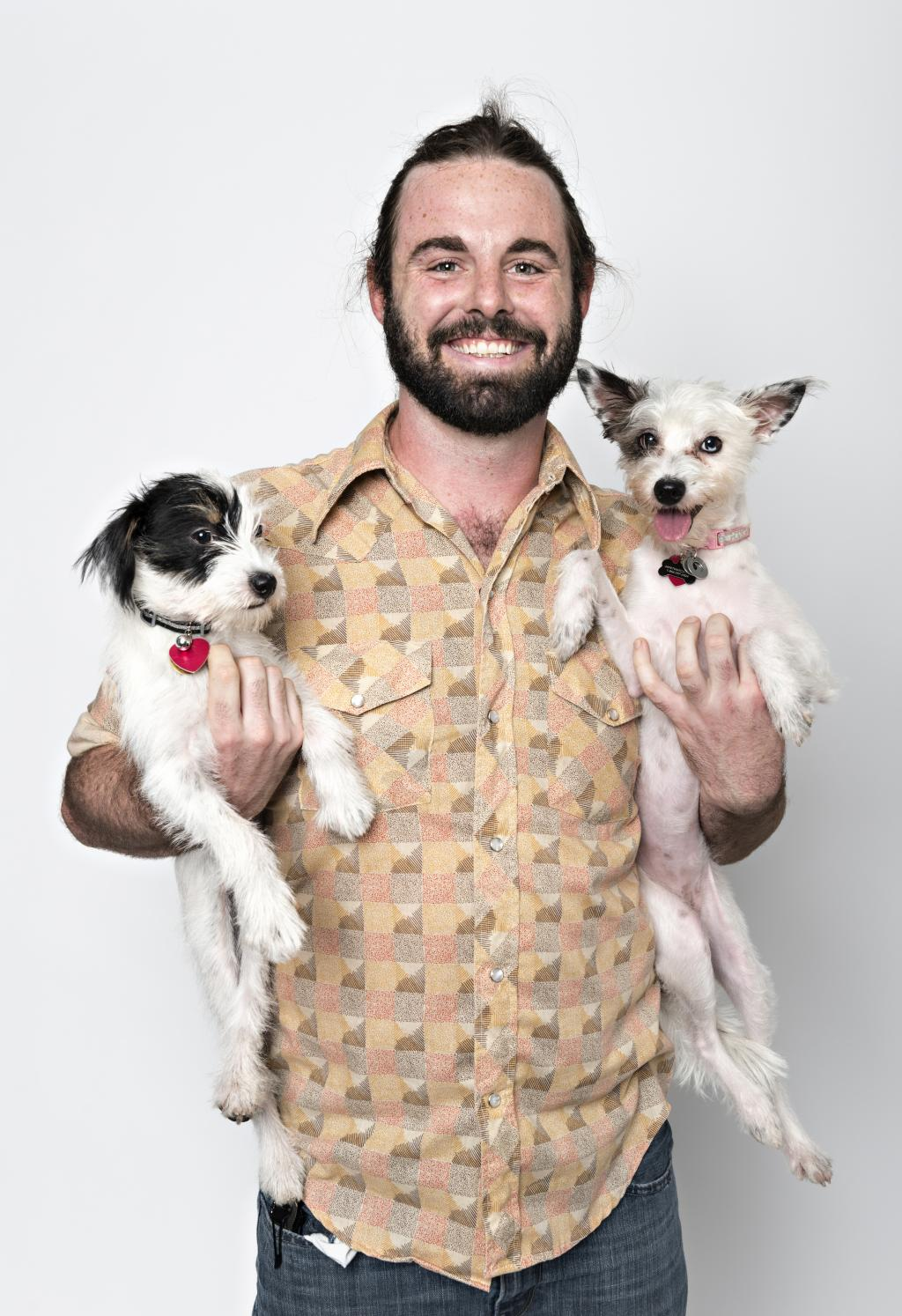 tim and dogs